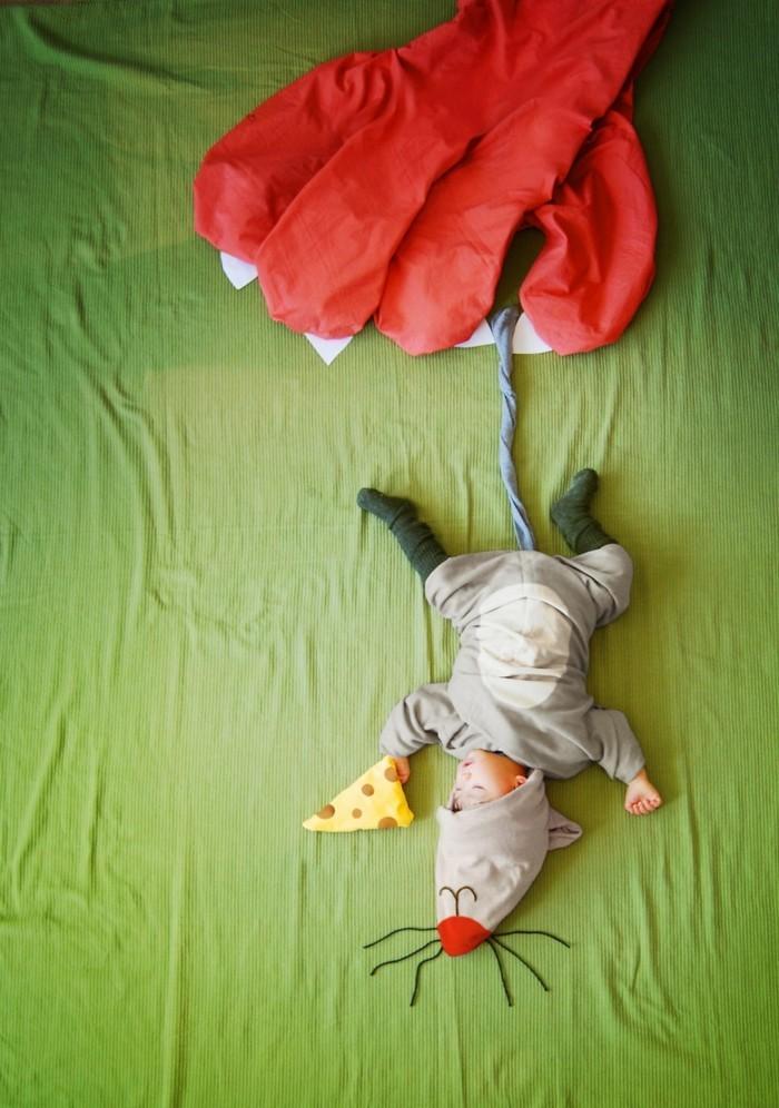 baby fotos ideen fotoshooting ideen kreativ lustige babybilder ideen katzen maus
