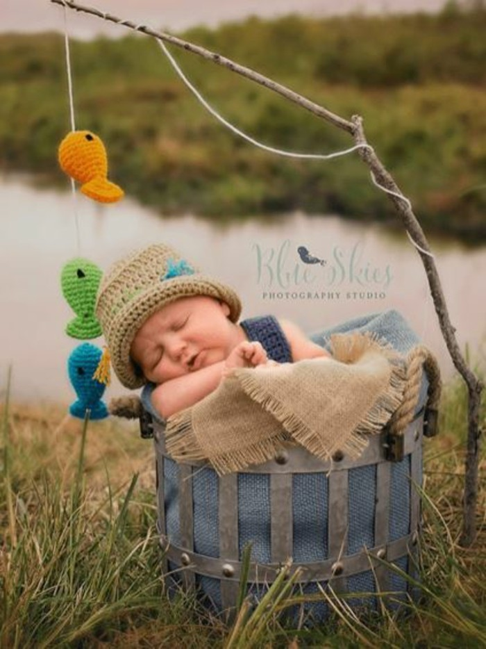 baby fotos ideen fotoshooting ideen kreativ lustige babybilder ideen kreativ angler