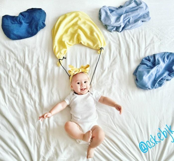Baby Foto Ideen Über 40 coole baby fotos ideen für ein kreatives fotoshooting