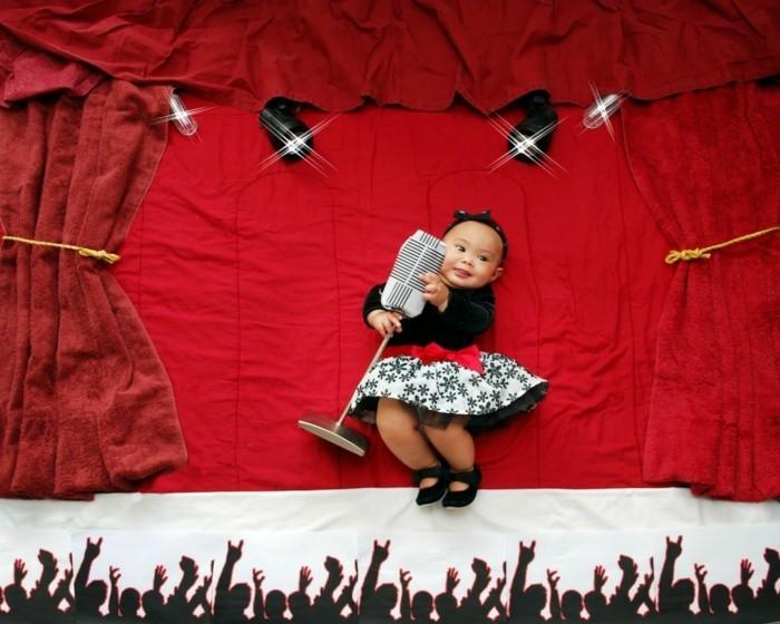 baby fotos ideen fotoshooting ideen kreativ lustige babybilder superstar
