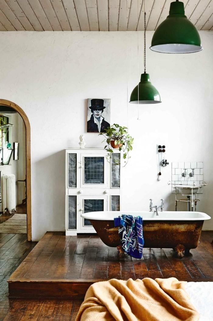 bad ideen badewanne im wohnzimmer