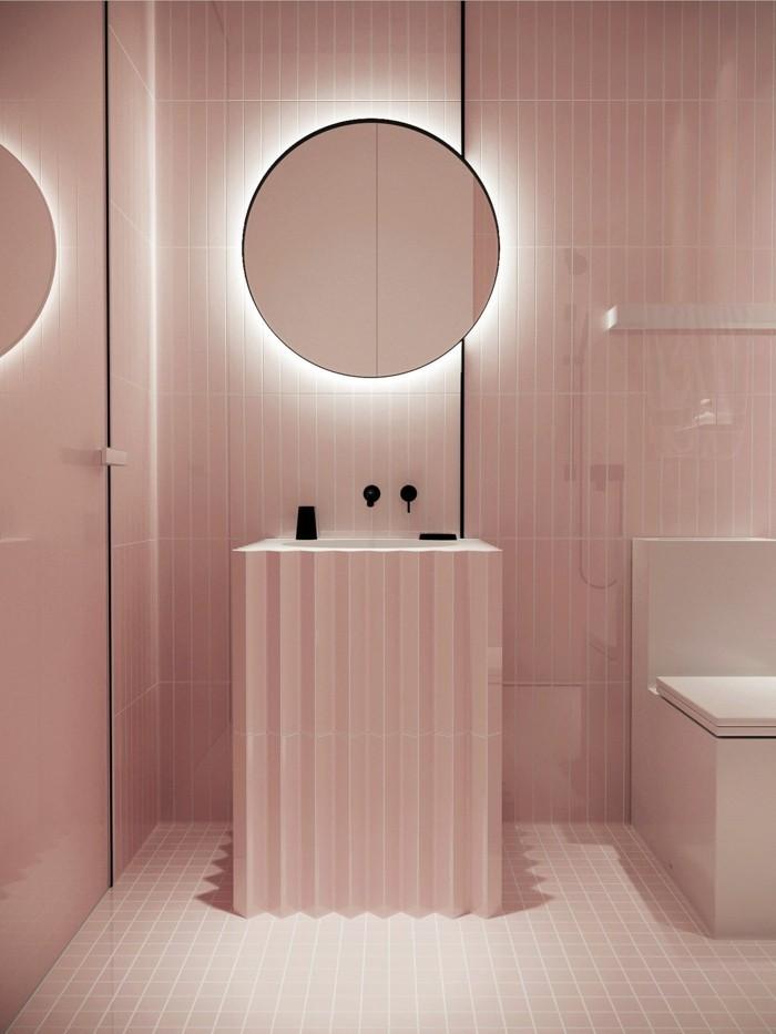 bad ideen rosa ambiente
