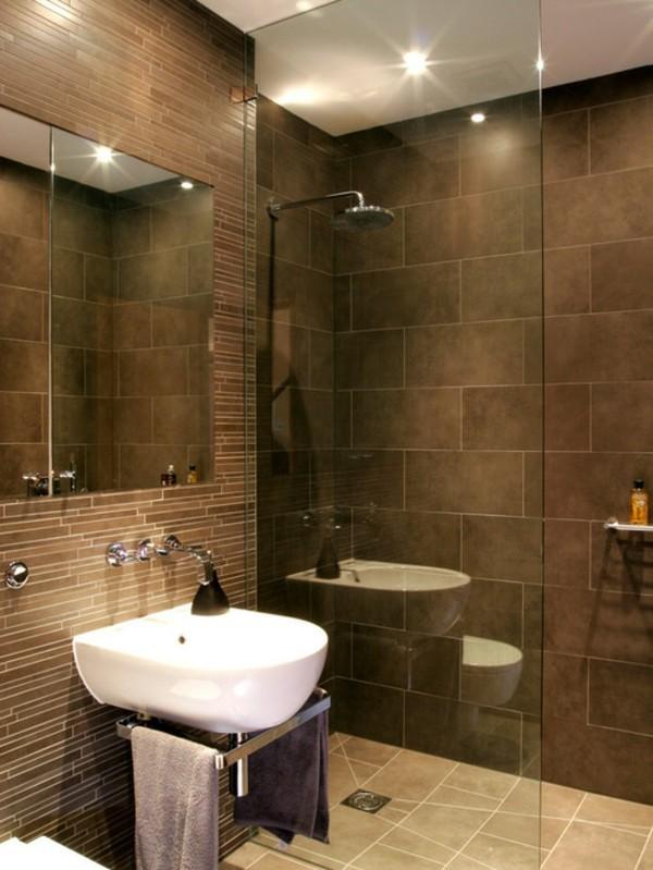 badezimmer braun sind klassisch und ganz vielseitig. Black Bedroom Furniture Sets. Home Design Ideas