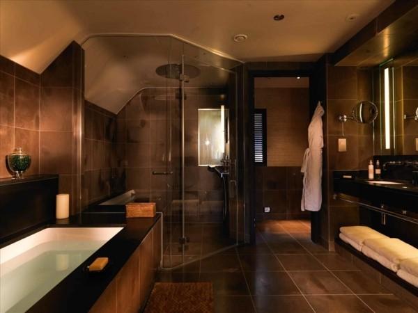 badezimmer braun luxuriöses badezimmer gestalten