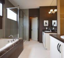 badezimmer braun wei, badezimmer braun sind klassisch und ganz vielseitig!, Design ideen