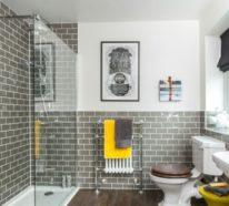 Badezimmer in Grau – 35 Ideen für ein zeitloses und trendiges Baddesign