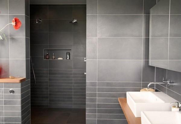 Badezimmer In Grau U2013 35 Ideen Für Ein Zeitloses Und Trendiges Baddesign ...