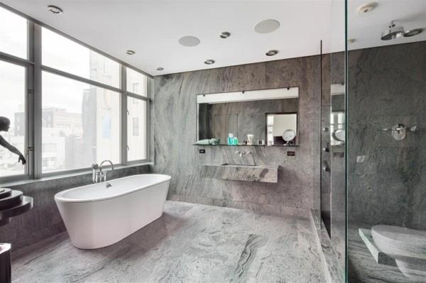 Badezimmer Grau - Ideen für ein zeitloses und trendiges ...