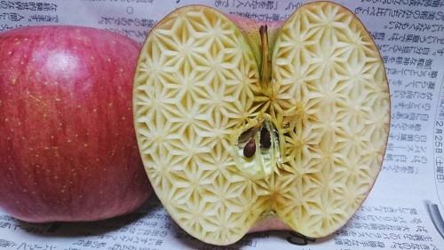 dekoideen apfel mit mustern