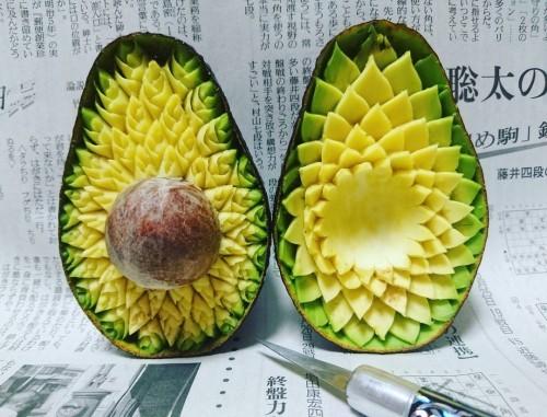 dekoideen noch ein tolles avocado