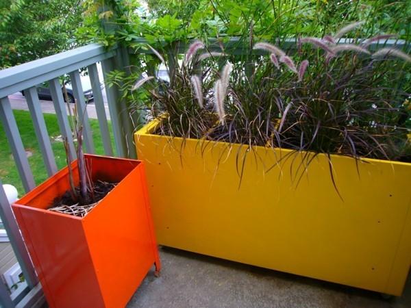 diy pflanzer tolle terrassengestaltung