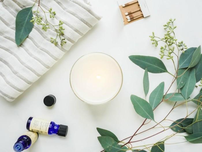 duftkerzen selber machen aetherische oele festlich