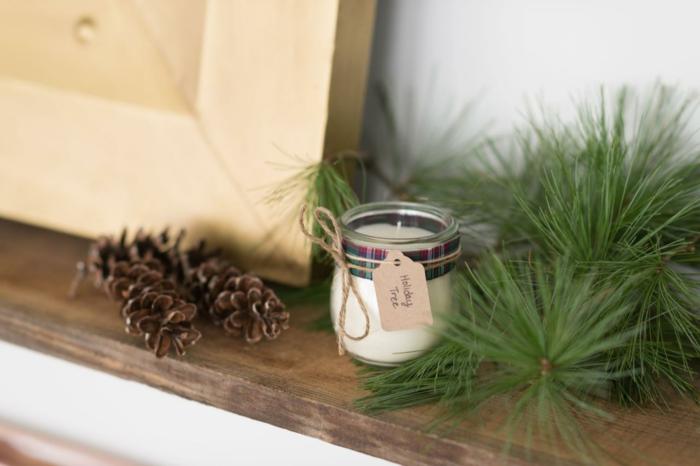 duftkerzen selber machen aetherische oele glas winteraroma
