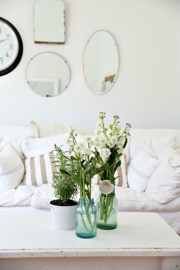 einmachgläser deko wohnzimmertisch deko einmachgläser vasen