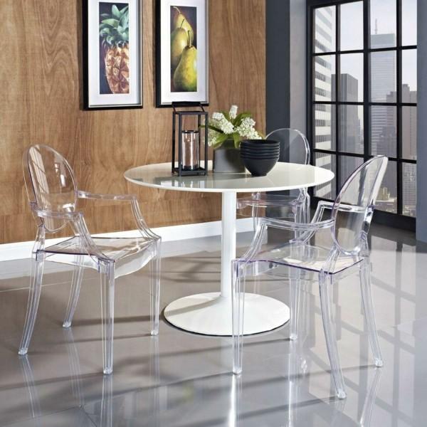 esszimmerstühle mit armlehne schönes design transparent