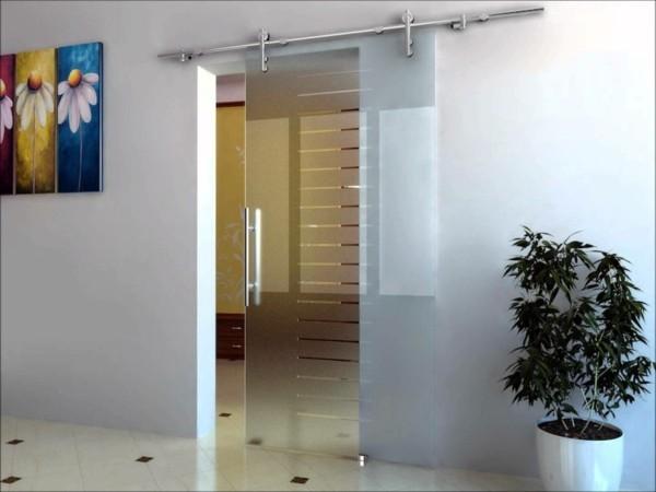 glastüren transparenz helligkeit sichern