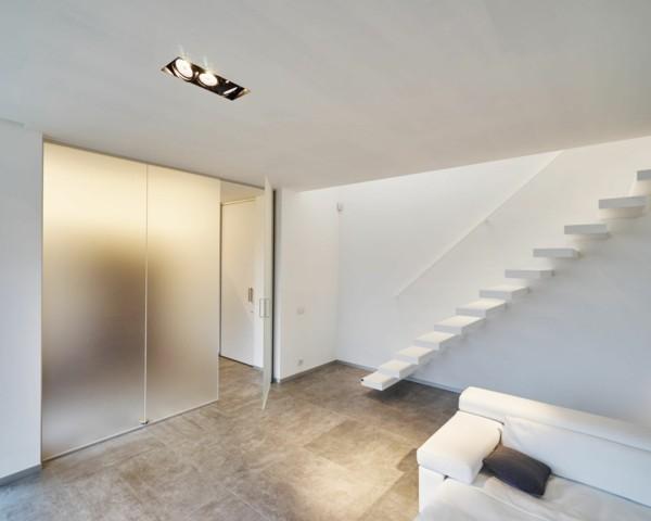 glastüren wohnbereich gestalten moderne innentreppen
