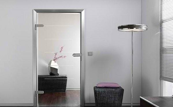 glastüren wohnung einrichten innentüren