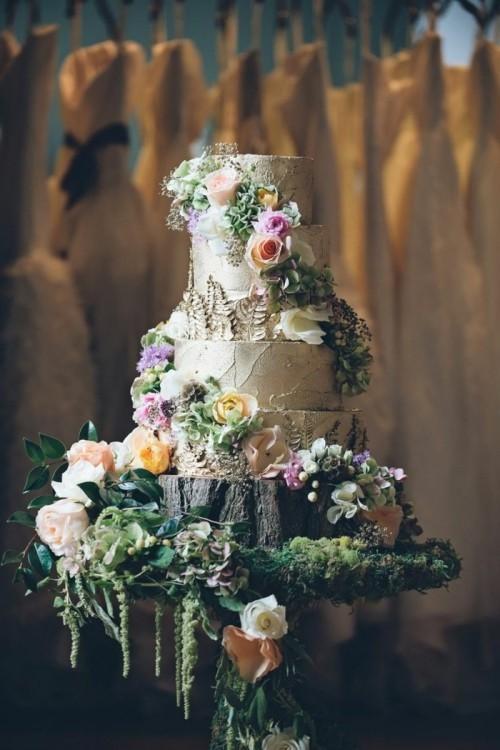 hochzeit feiern hochzeitsdeko selber machen blumendeko torte