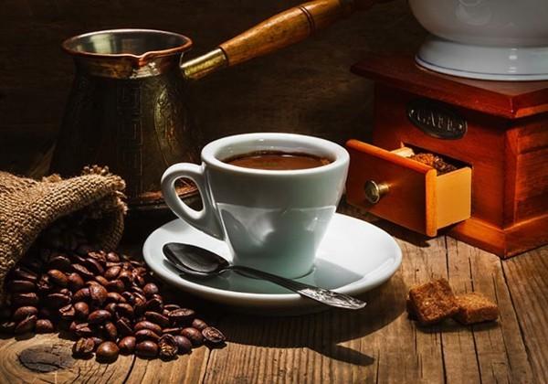 kaffeesatz kaffeetasse kaffeebohnen
