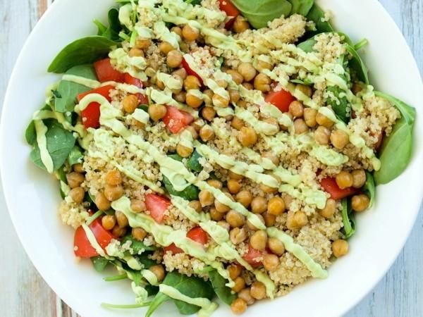 kichererbsen nährwerte einfache rezeptideen salat ideen