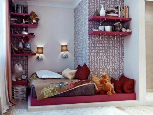 kleines schlafzimmer einrichten originell