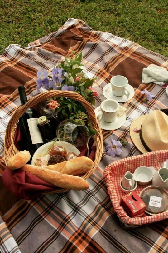 ländliche atmosphere picknick ideen