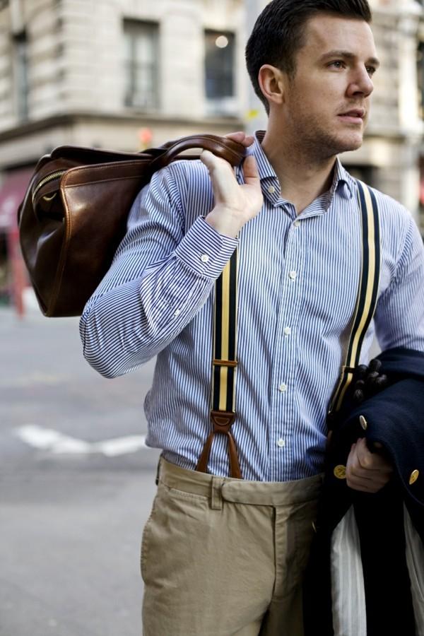 männer outfits hosenträger trends