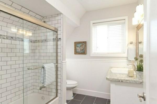 metro fliesen bad kleines badezimmer gestalten