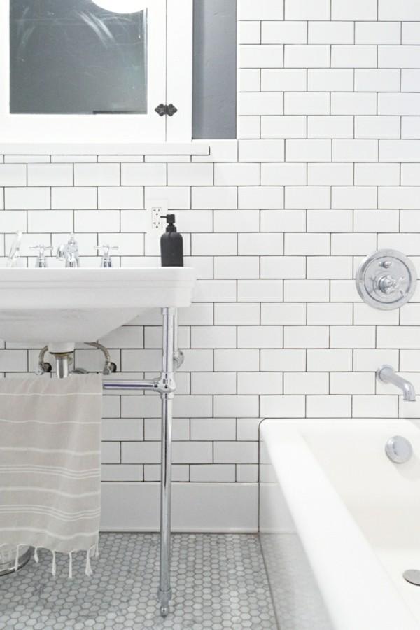 Metro Fliesen Bad - eine trendige und doch zeitlose Entscheidung ...