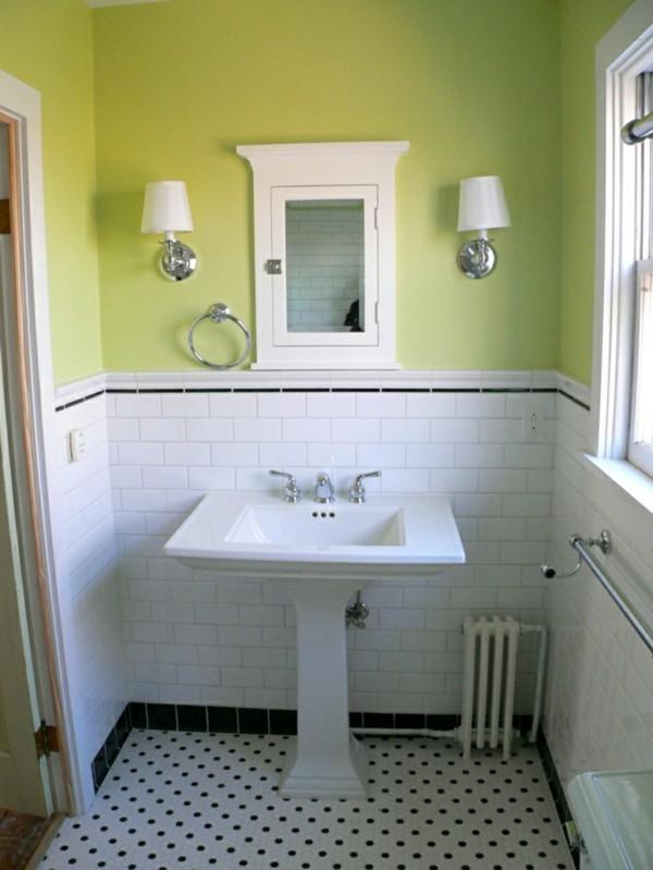 Metro fliesen bad eine trendige und doch zeitlose entscheidung f rs badezimmer - Wandfarbe bad ...
