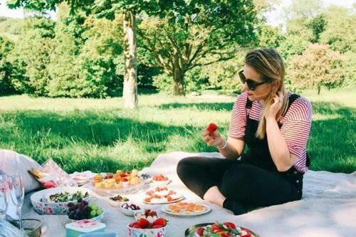 picknick ideen essen mit früchten