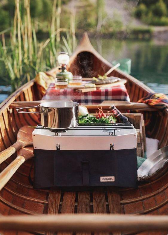picknick ideen im boot