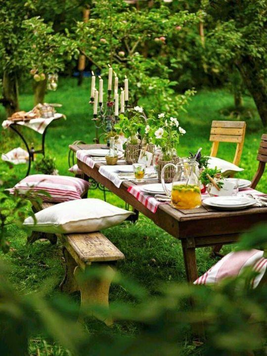 picknick ideen mitten im wald