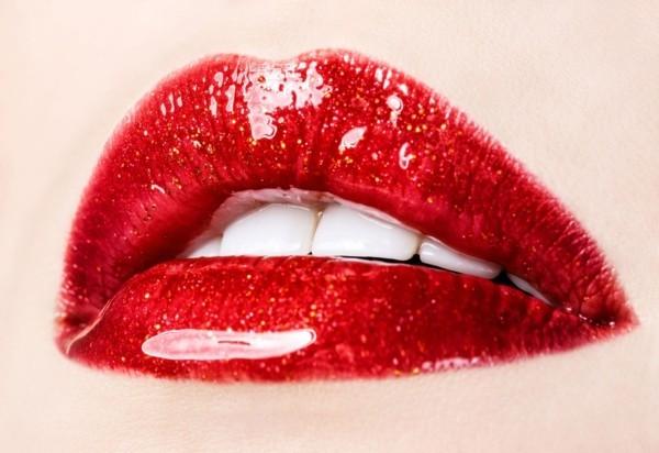 rote volle lippen 3d lippen gloss