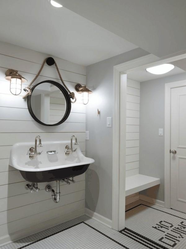 runder badspiegel wandspiegel design bad ideen