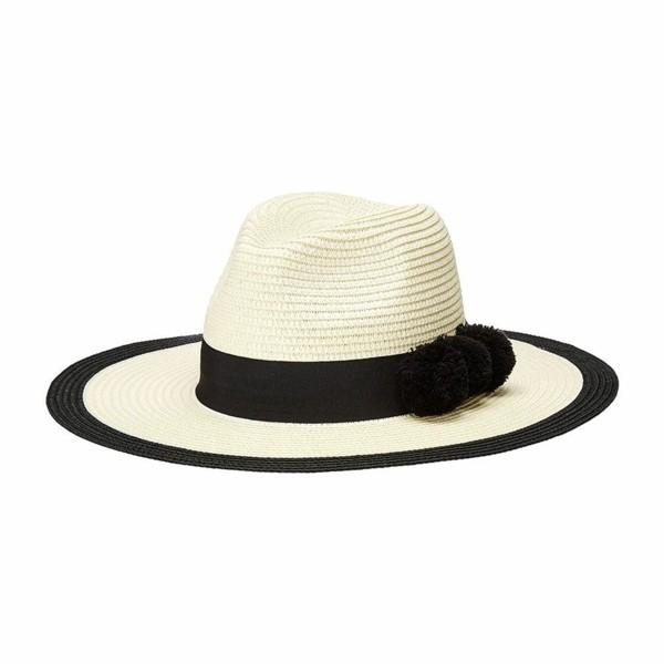 schwarz weißes design sommerhut-resized