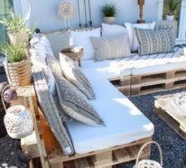 Gartenmöbel aus Paletten: Aktuelle Ideen für Sommer 2018
