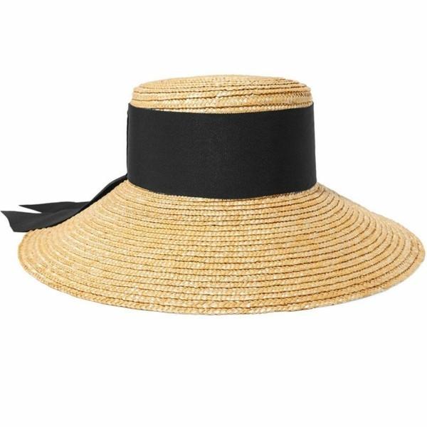 sommerhut stroh mit schwarzem streifen-resized