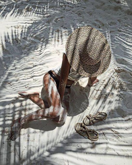 sonnenhut bild am strand