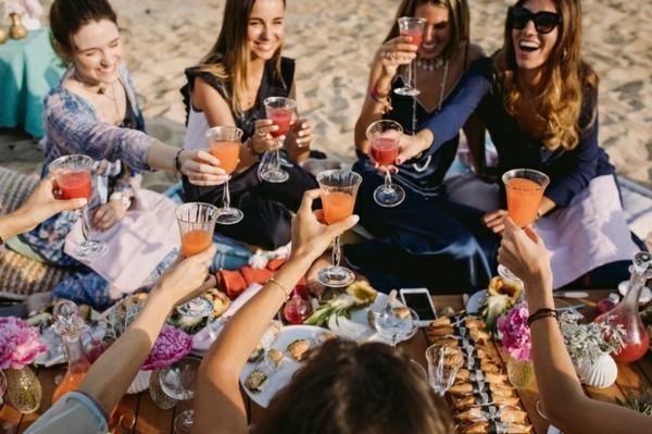strandparty picknick junggesellinnenabschied ideen