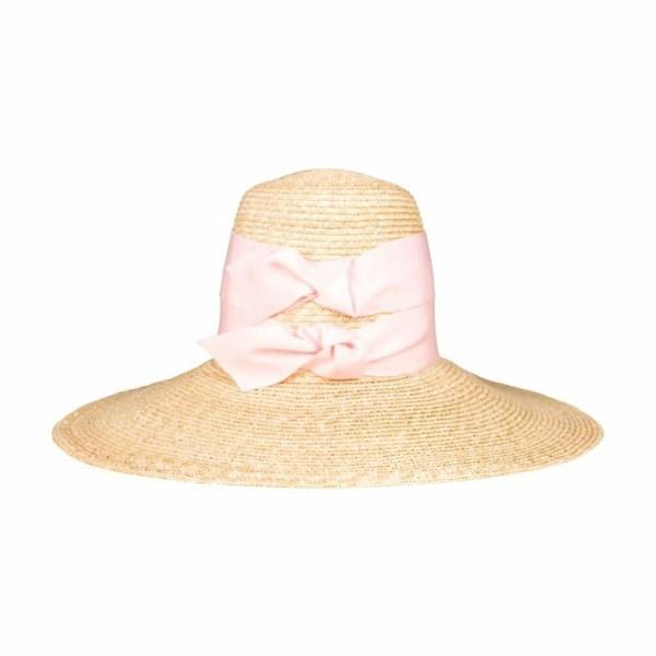 stroh mit sehr breitem rosa band sommerhut-resized