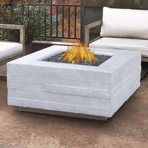 terrassenkamin offene feuerstelle außenbereich gestalten ideen