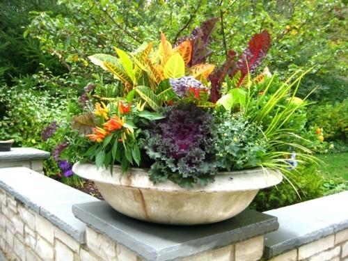 topfblumen elegante dekoideen frische stimmung