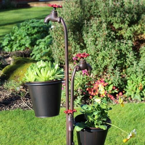 topfblumen gartenpflanzen originelle gartendeko