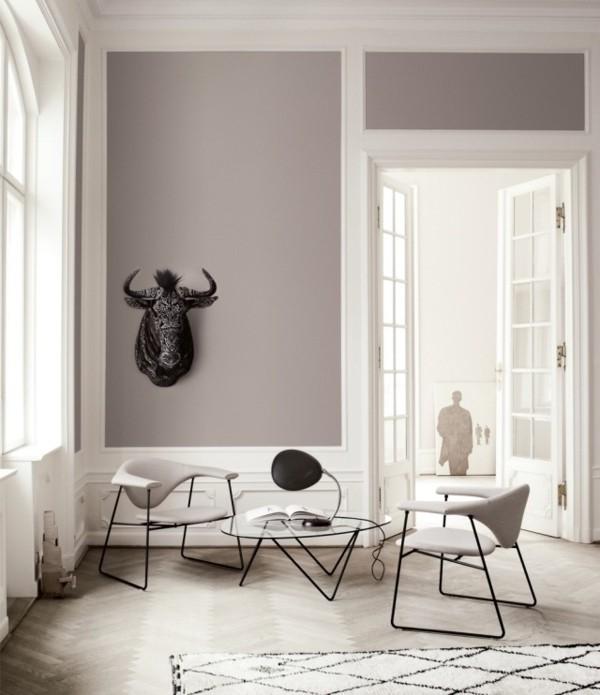 Wandfarbe Hellgrau Ein Charaktervoller Hintergrund Fur Jeden