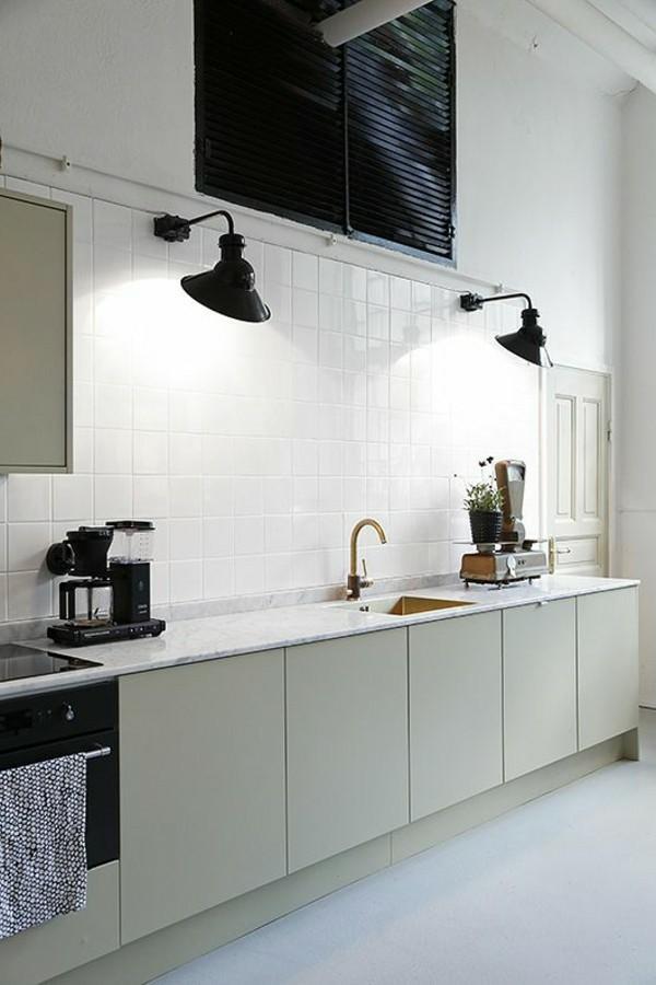 wandleuchten innen küche minimalistisches design