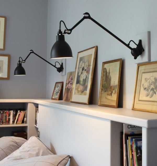 wandleuchten innen erg nzen die allgemeine beleuchtung und f gen optische effekte hinzu. Black Bedroom Furniture Sets. Home Design Ideas