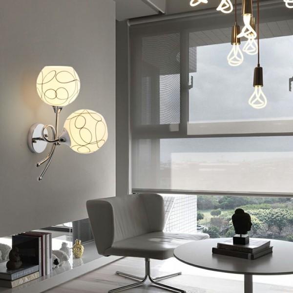 wandleuchten innen wunderschönes design wohnzimmer beleuchten