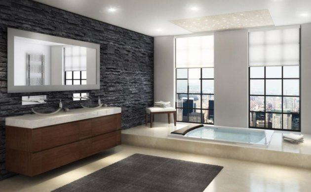1001 badezimmer ideen fliesen leuchten m bel und. Black Bedroom Furniture Sets. Home Design Ideas